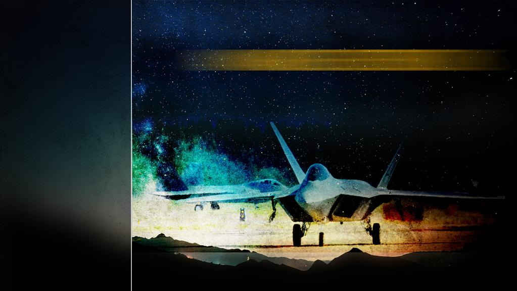 Air Superiority F-22 Global Precision Attack