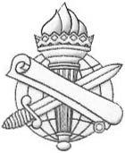 Shown here are the distinctive insignia of the various branches of the Army.