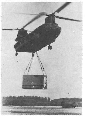 --- 42 Profile of the Army CH-47 SERIES CHINOOK MEDIUM LIFT TRANSPORT HELICOPTER. The.