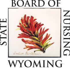 APPLICATION FOR WYOMING LICENSED REGISTERED NURSE (RN) *All licenses expire December 31 of every EVEN year* This is a Legal Document.