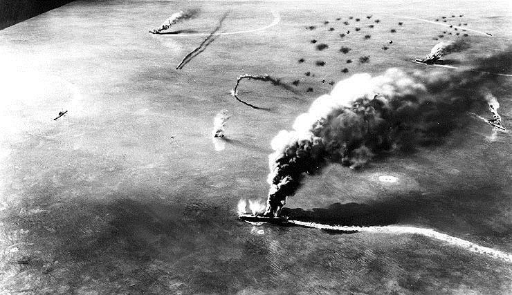 The Battle of Midway Japanese Combined Fleet commander Yamamoto moved on to Midway in an effort to draw out and destroy the U.S.