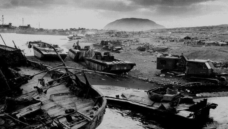 U.S. Forces Close In In March 1945, the U.S. seized the island of Iwo Jima, and in June 1945, the island of Okinawa. Thousands of Americans died in these final battles.