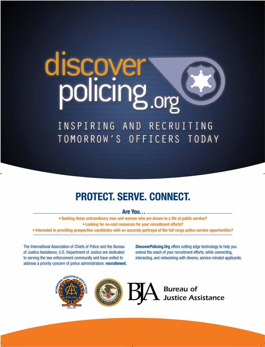 PROTECT. SERVE. CONNECT. Are you Seeking those extraordinary men and women who are drawn to a life of public service? Looking for low-cost or no-cost resources for your recruitment efforts?