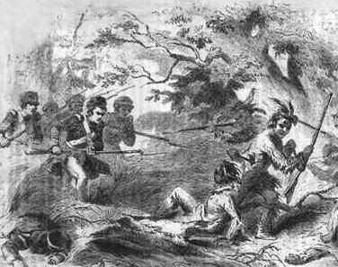 Defeat of the Creek Before his death in the Battle of the Thames, Tecumseh had talked with the Creek in the Mississippi Territory about forming a confederation to fight the United States.