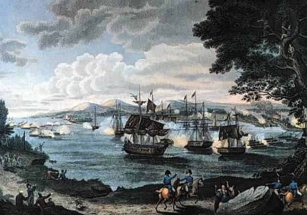 A Turning Point at Plattsburgh While British forces were attacking Washington and Baltimore, British General Sir George Prevost was moving into New York from Canada.