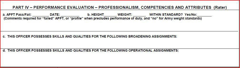 U S  ARMY HUMAN RESOURCES COMMAND  Evaluation and Selection