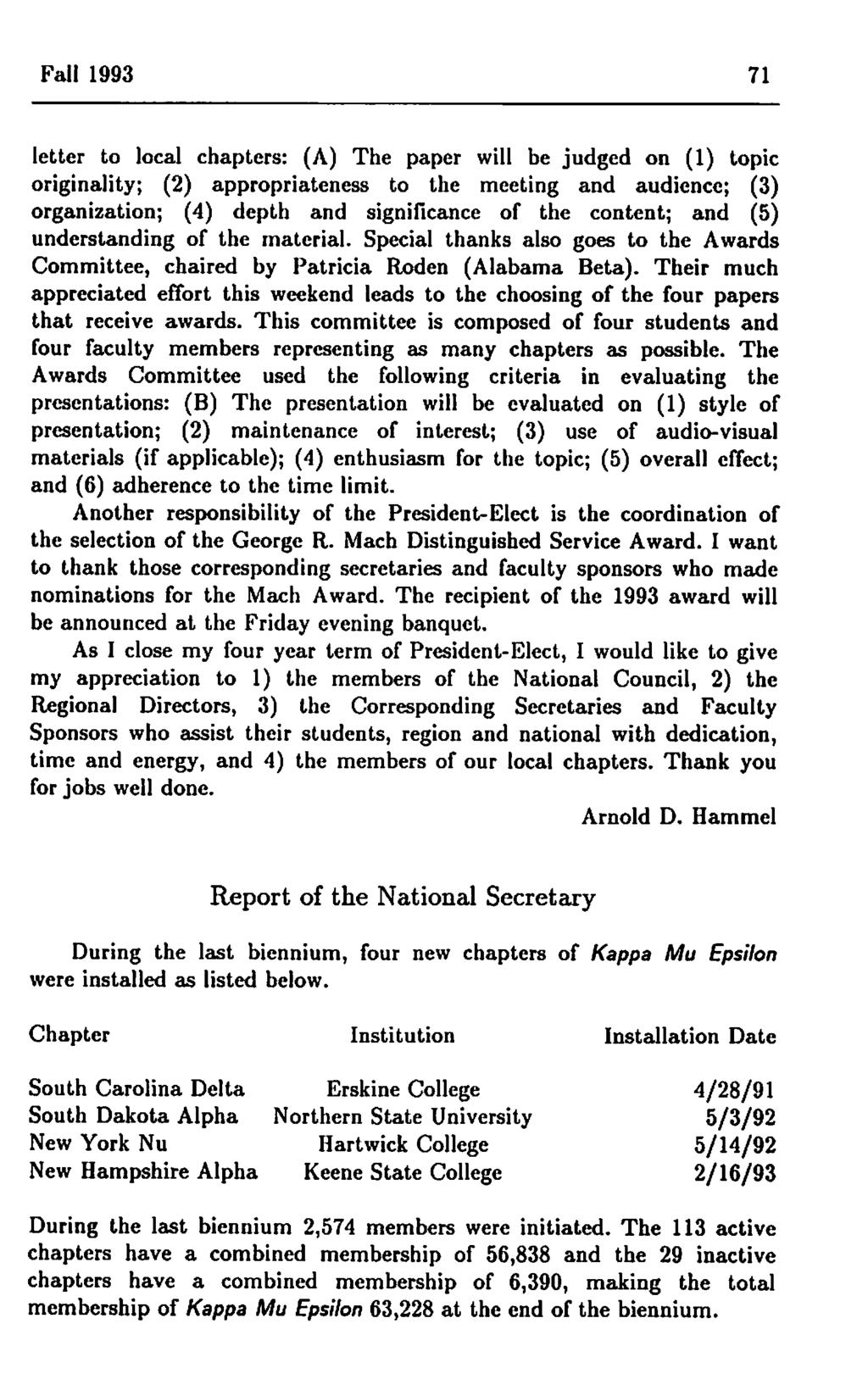 Volume 53 number 1 fall general convex solid modeling 3 mitch fall 1993 71 letter to local chapters a the paper will be judged fandeluxe Choice Image