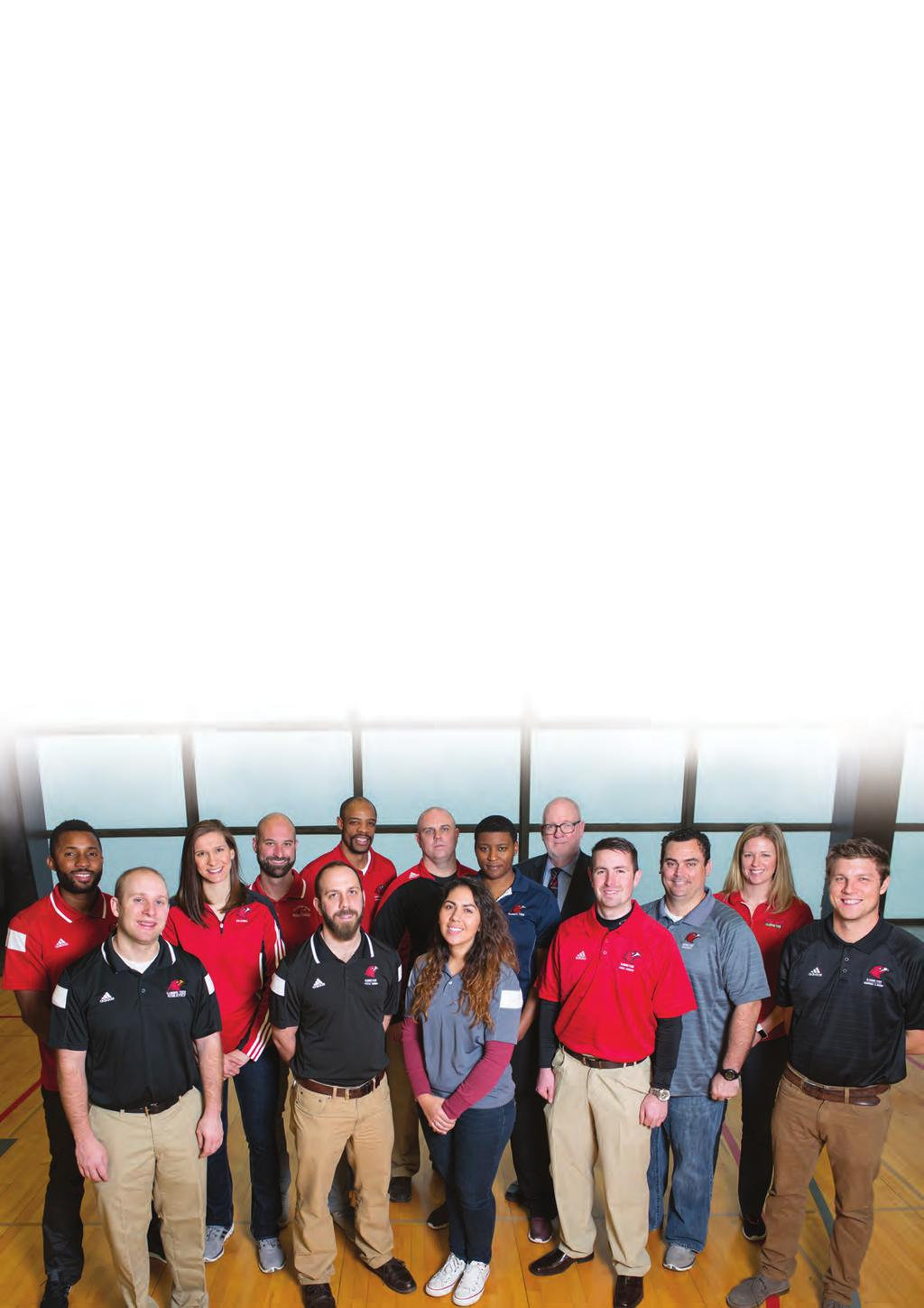 DEDICATED TO YOU: OUR STAFF Illinois Tech s varsity coaches, assistant coaches, trainers, and program administrators are experienced in leading intercollegiate teams.