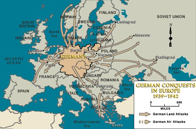 Operation Barbarossa The German invasion of the Soviet Union was known as Operation