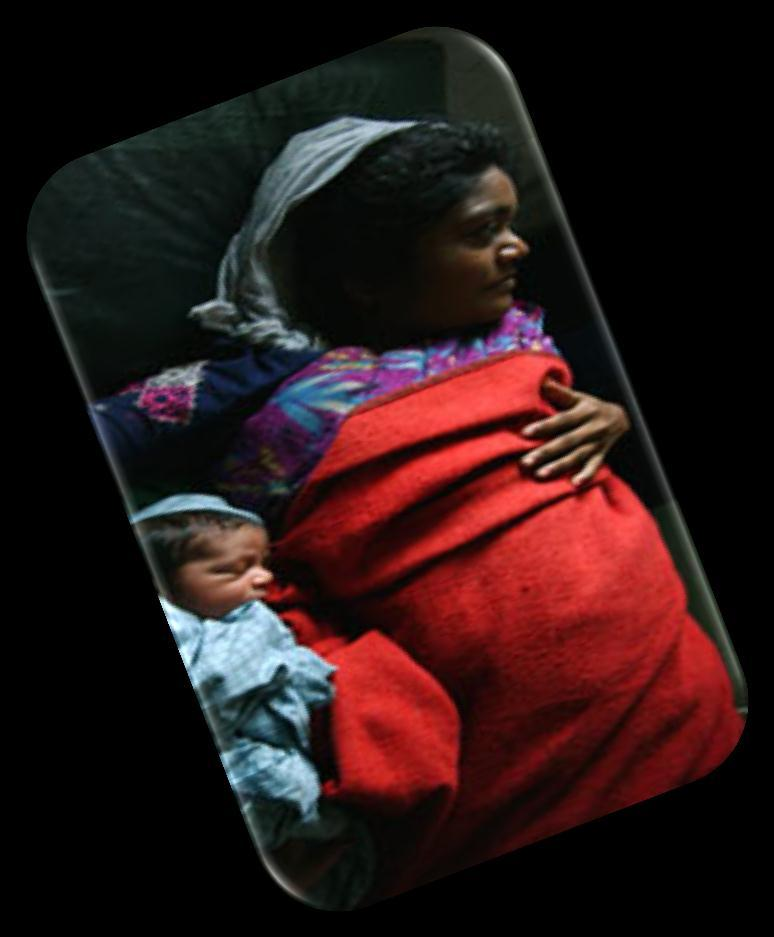 THE NEED FOR MATERNAL-CHILD HEALTH NURSE LEADERS IN AFRICA Women are not dying because of