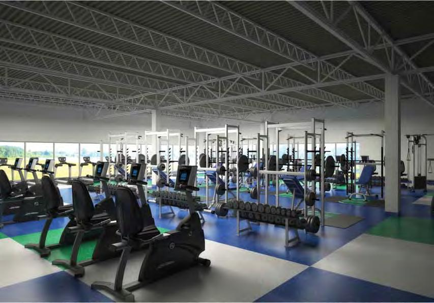 student-athletes, expanded sports medicine facilities, new