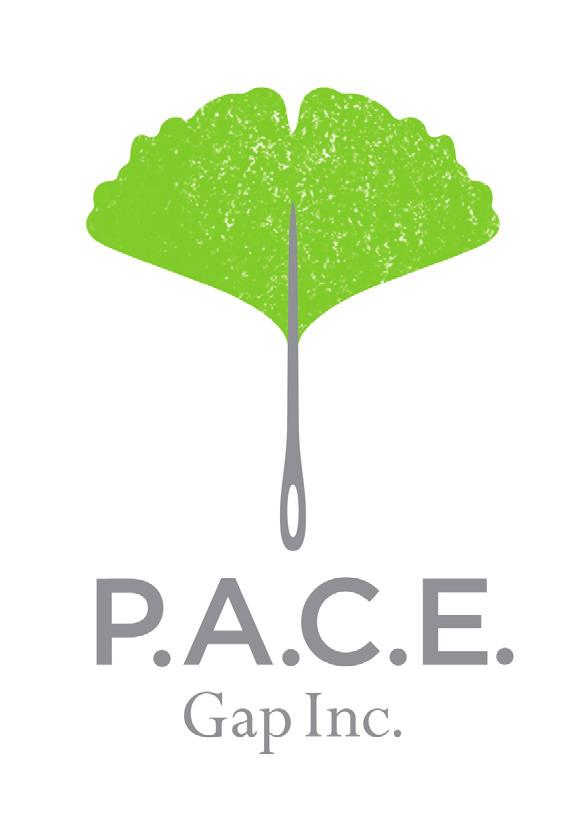 GAP INC. P.A.C.E. Personal Advancement & Career Enhancement P.A.C.E. completed its fifth year in operation and continues to expand, positively impacting the lives of women in the developing world.