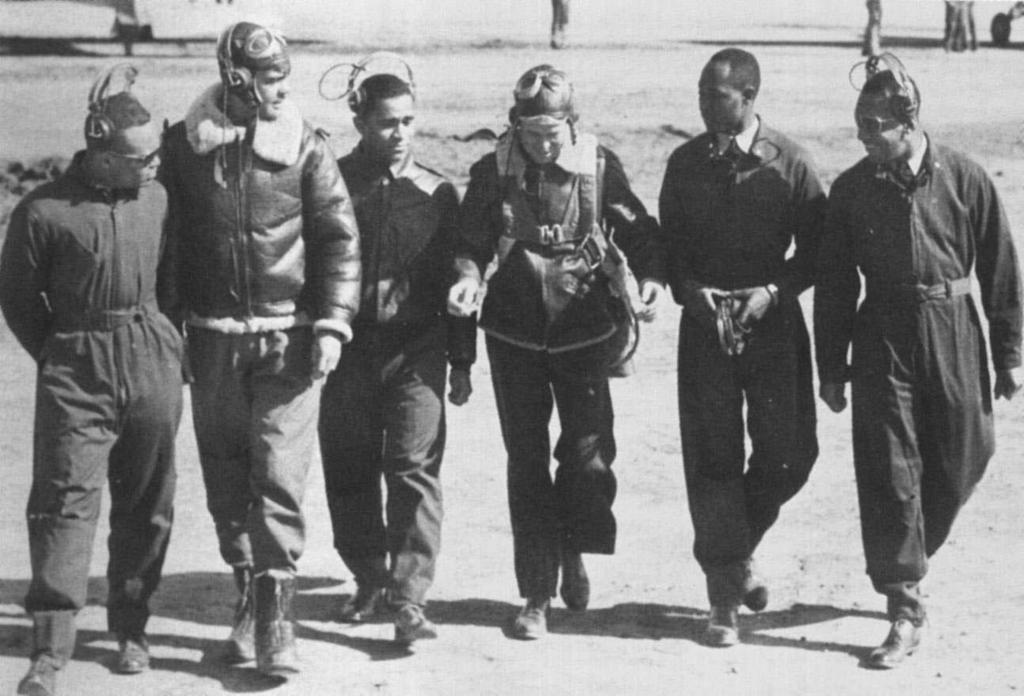 On May 31, 1943, the 99 th Squadron, the first group of