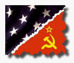 Tensions between the US and the USSR The US and Soviet Union were allies only because both were enemies of Germany.