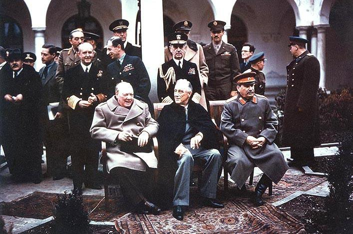 YALTA AGREEMENTS 1) They agreed to divide Germany into 4 occupied zones after the war 2) Stalin agreed to free
