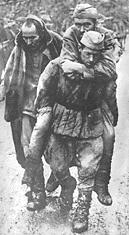 3. BATTLE OF STALINGRAD For weeks the Germans pressed in