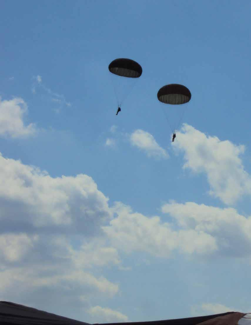 THIRD BATTALION 26th Airborne Brigade Jump Week, Saarlouis, Germany by Corporal B.
