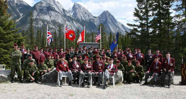 Photo Credit: Cpl Ryan McKay Members of 1st Canadian Parachute Battalion,