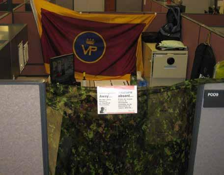 National Capital Region by Capt Nixon ERE PATRICIAS No one joins the Army to work behind a desk.