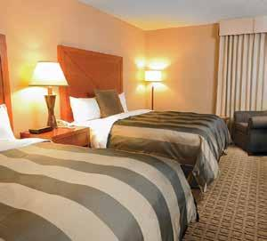 The Mayfield Inn & Suites is a full service hotel that features: 321 guest rooms and suites 100% smoke free