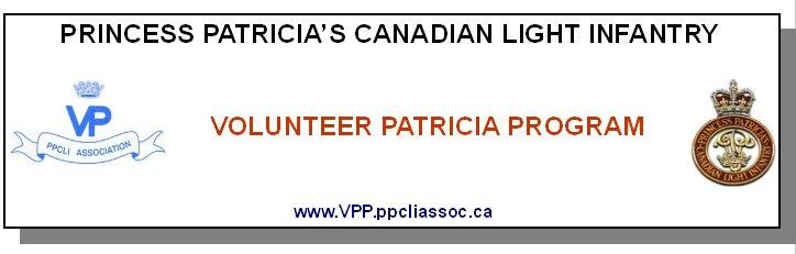 P.P.C.L.I. Association - Volunteer Patricia Program (VPP) Going Digital The VPP s goals remain unchanged.