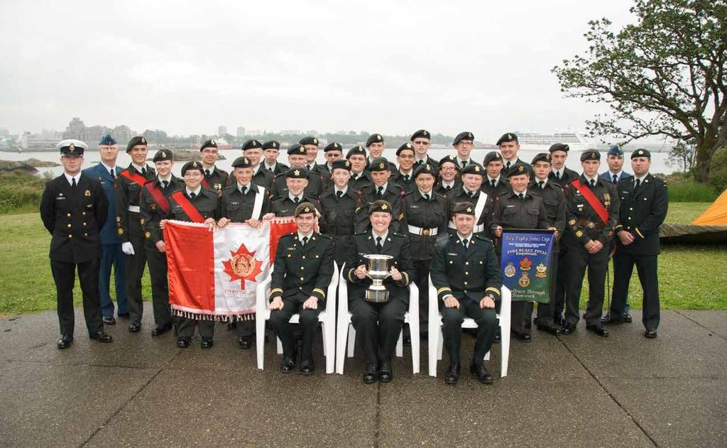2483 PPCLI Royal Canadian Army Cadet Corps Victoria, British Columbia by Capt Madeleine Dahl, Commanding Officer was a great year 2011 for 2483 PPCLI Royal Canadian Army Cadet Corps.
