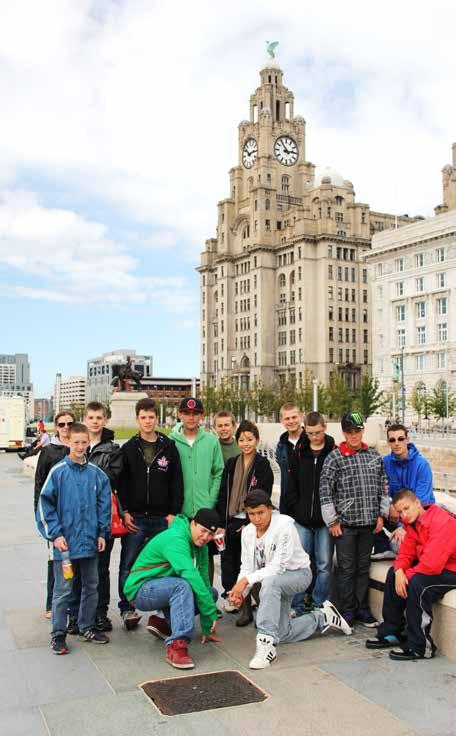 2551 cadets in Liverpool August 2011 constantly on the move training.