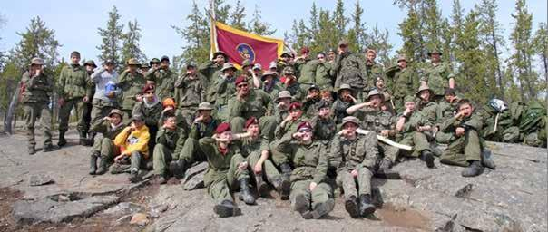 2837 PPCLI Royal Canadian Army Cadet Corps Yellowknife, Northwest Territories 2837 Cadets and visiting Cadets from 2517 Melville Saskatchewan during last year s May long weekend FTX.