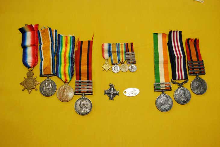 PPCLI MUSEUM AND ARCHIVES Maj S.L. Jones and Pte H.G. Jones s medal groups.