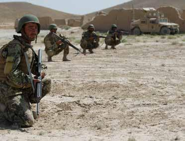 THIRD BATTALION The Consolidated Fielding Centre Pathway to Security Transition in Afghanistan by Captain A.