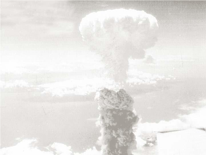 used in warfare CHC2P I HUNT 2016 46 August 9, 1945 Nagasaki, Japan Truman drops another atomic bomb because Japan
