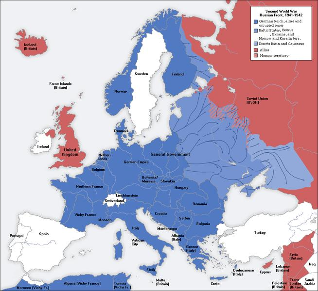 RESULT: In the spring of 1940 Germany was able to capture Denmark in one day The Netherlands in