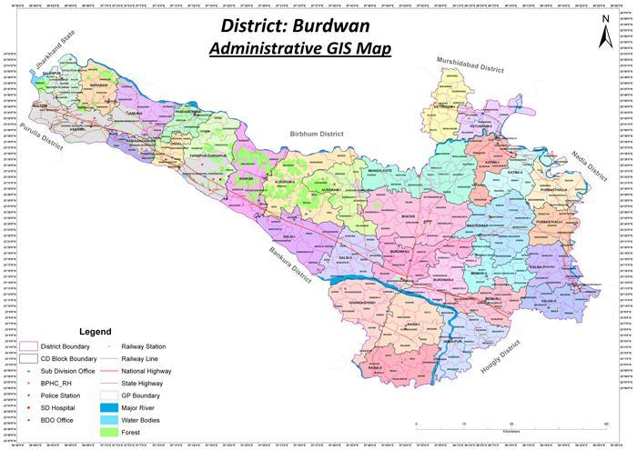 1.1 District Overview: Origin : The name Burdwan is the anglicized form of Barddhaman.
