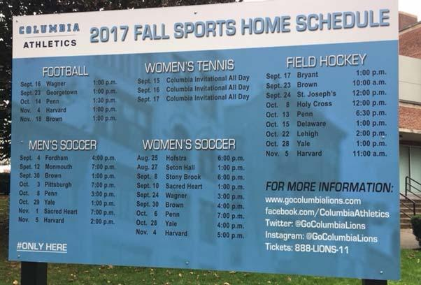 Football Game Tickets: Columbia University continues to offer up
