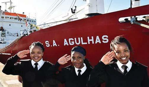 The Agulhas I was acquired by the South African Maritime Safety Authority (SAMSA) for training in support of the National Cadet Programme, which is being managed by the Port Elizabeth-based South