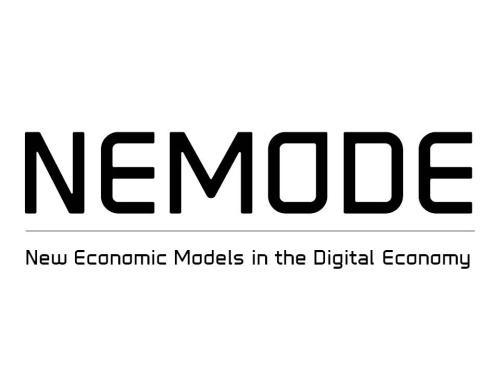 NEMODE Network+ 3K Open Call Call for research proposals New Economic Models in the Digital Economy Closing date: None Reviewing dates: 1st February, 1st June, 1st September and 1st of December