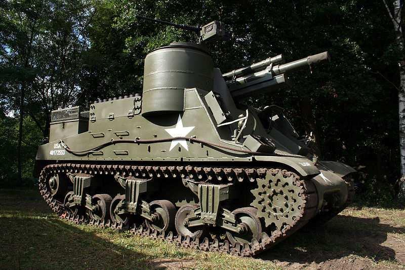 246 Chapter 6 Fig. 6.4 M7 tank. Several versions of the M7 tank were used by the US Army in World War II.