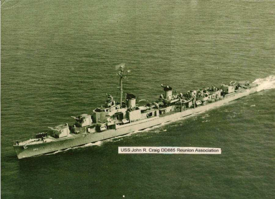 322 Chapter 6 Fig. 6.8 Destroyer USS Craig (DD-885) in 1948. According to John Merrill (1980), this destroyer took station off the northern coast of Cheju Island in mid-may 1948.
