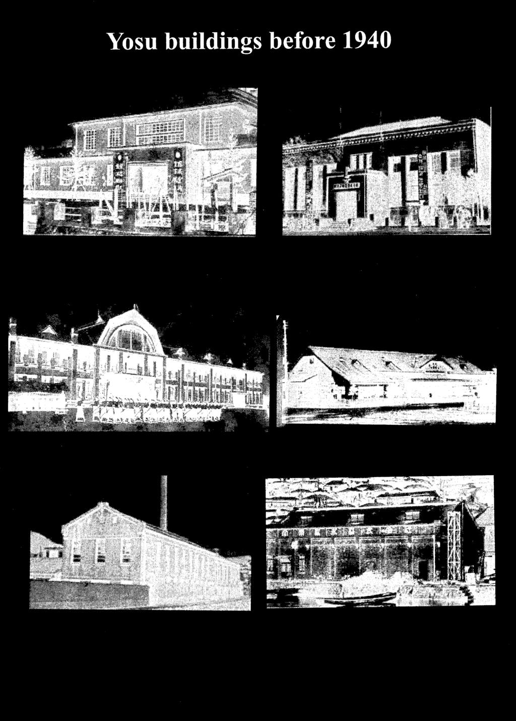 54 Chapter 1 Fig. 1a Some buildings in Yosu before 1940.