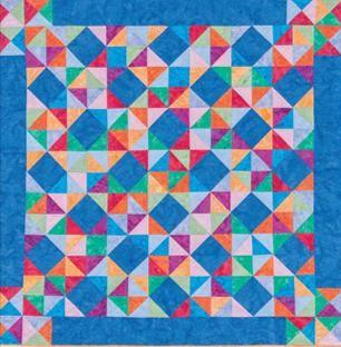work, and join in the quilting bee.