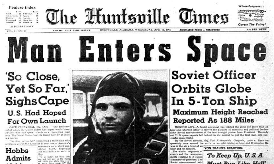 The USSR repeatedly beat the USA in space by