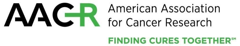 Colon Cancer Alliance-AACR Fellowship in Young-Onset Colorectal Cancer