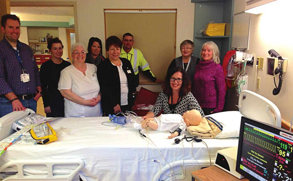 Neil s Harbour, Cheticamp and Baddeck Interprofessional Simulation Project In August 2015, nurses and paramedics did trauma training together using mobile simulation equipment.