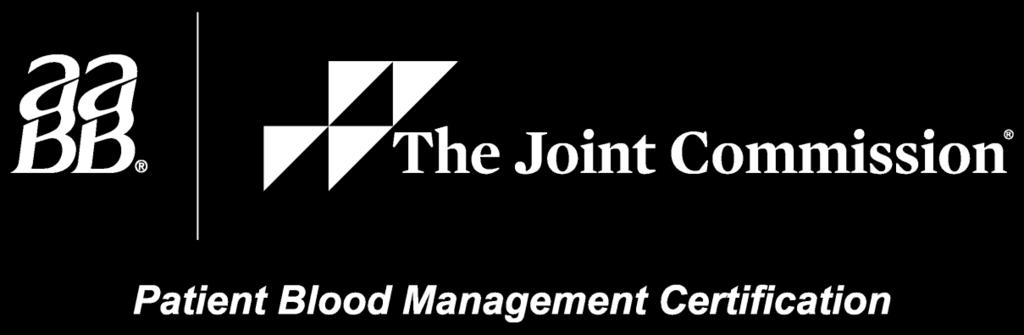 Patient Blood Management Certification