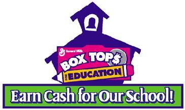 January 19, 2015 TO: St. Mary's School Families We are asking for your help with the Box Tops for Education program, an easy way to earn money for St. Mary's. General Mills' Box Tops program pays participating schools 10 for every box top that is turned in.
