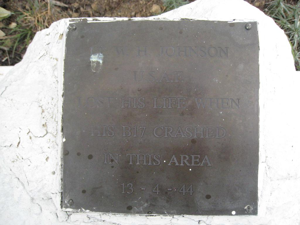 Memorial Plaque at the centre of