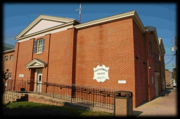 The Shenandoah County Jail booked in over 1,170 persons in 2011. The jail handled over 3,718 visitors to the inmates.