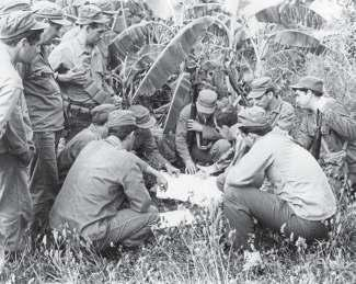 Small-unit infantry tactics and survival skills were the basics of the training given to Cuban exiles in Guatemala during the fall of 1960.