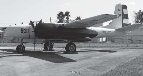 A Douglas B-26B Invader on display in Miami, bearing the Cuban Air Force markings that would have been seen during the Bay of Pigs fighting.