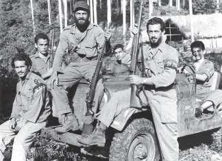 Members of Fidel Castro s July 26 Movement (note armbands), wearing uniforms and using equipment captured from Fulgencio Batista s forces, 1956 59.